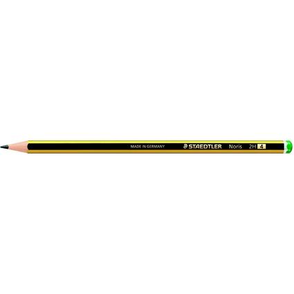 STAEDTLER Bleistift Noris, sechseckig, Härtegrad: 2H