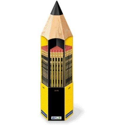 STAEDTLER Bleistift Noris mit Radierer, 90er Display