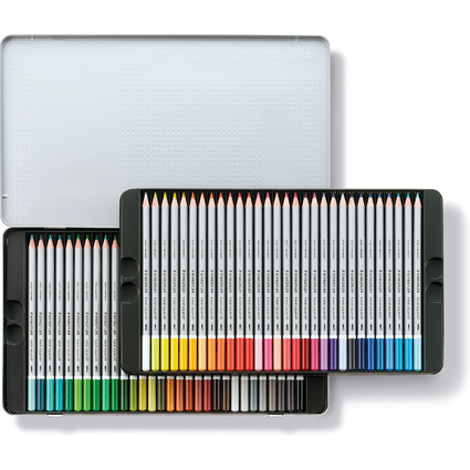 STAEDTLER Aquarellstift karat, 60er Metalletui