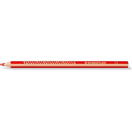 STAEDTLER Dreikant-Buntstift TRICKI DICKI, dreieckig, rot