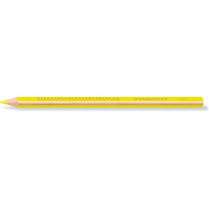STAEDTLER Dreikant-Buntstift TRICKI DICKI, dreieckig, gelb