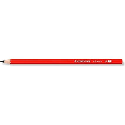 STAEDTLER Bleistift minerva, sechseckig, Härtegrad: HB