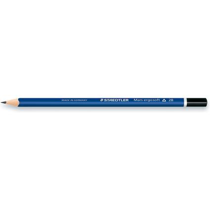 STAEDTLER Bleistift Mars ergosoft, Härtegrad: 2B