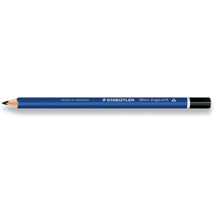 STAEDTLER Bleistift Mars ergosoft jumbo, Härtegrad: 2B