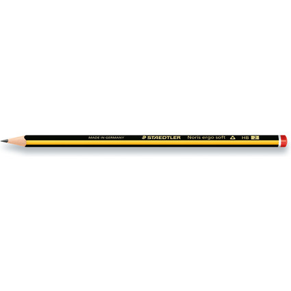 STAEDTLER Bleistift Noris ergosoft, Härtegrad: HB