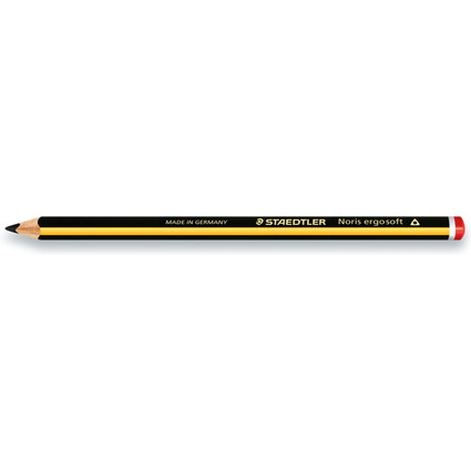 STAEDTLER Bleistift Noris ergosoft, Härtegrad: 2B