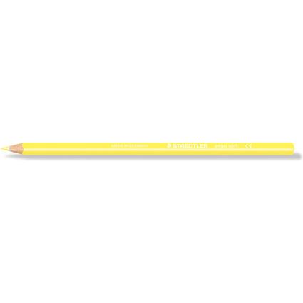 STAEDTLER Dreikant-Buntstift ergosoft, dreieckig, lichtgelb