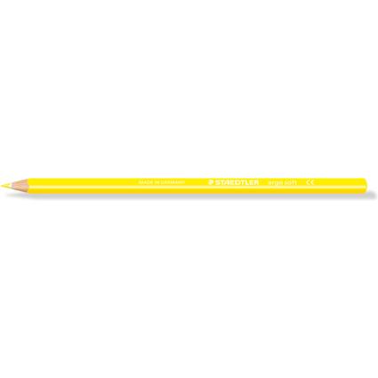STAEDTLER Dreikant-Buntstift ergosoft, dreieckig, gelb
