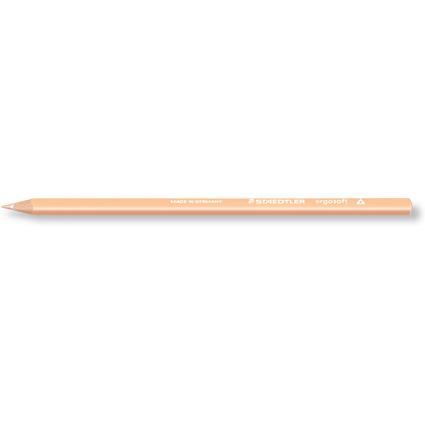 STAEDTLER Dreikant-Buntstift ergosoft, dreieckig, hautfarben
