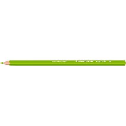 STAEDTLER Dreikant-Buntstift ergosoft, dreieckig, olivgrün