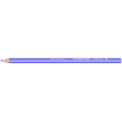 STAEDTLER Dreikant-Buntstift ergosoft, dreieckig, violett