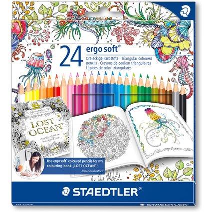 STAEDTLER Dreikant-Buntstift ergosoft, Johanna Basford
