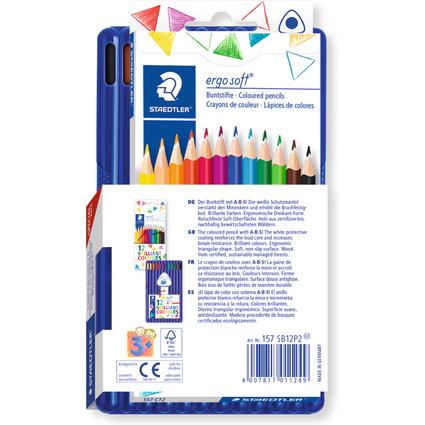 STAEDTLER Dreikant-Buntstift ergosoft Promotion Pack