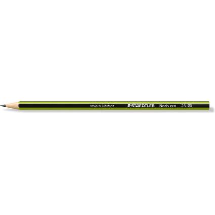 STAEDTLER Bleistift Noris eco WOPEX, Härtegrad: 2B