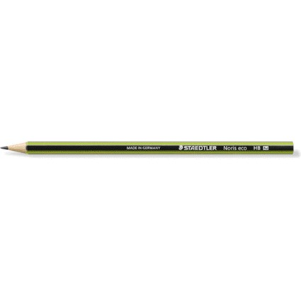 STAEDTLER Bleistift Noris eco WOPEX, Härtegrad: HB, Display