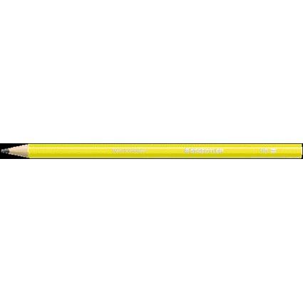 STAEDTLER Bleistift WOPEX neon, Härtegrad: HB, neon-gelb