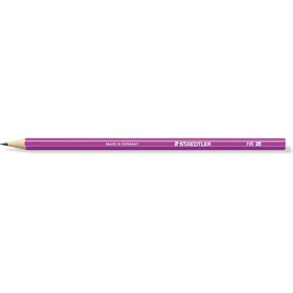 STAEDTLER Bleistift WOPEX neon, Härtegrad: HB, neon-violett