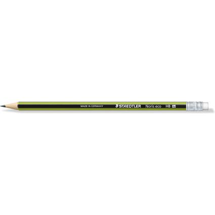 STAEDTLER Bleistift Noris eco WOPEX mit Radierer
