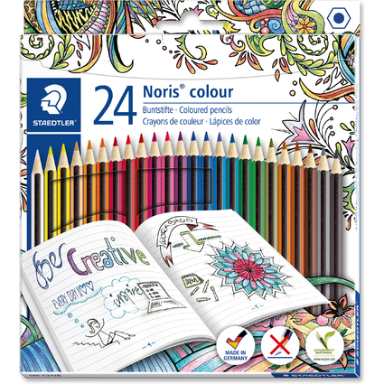 STAEDTLER Buntstift Noris Colour, Johanna Basford Edition