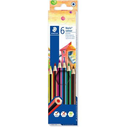 STAEDTLER Buntstift Noris Colour WOPEX, 6er Kartonetui
