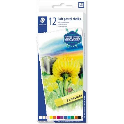 STAEDTLER Soft-Pastellkreide karat, 12er Kartonetui