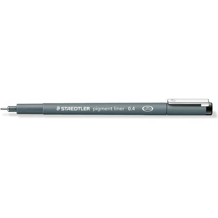 STAEDTLER Pigmentliner, schwarz, Strichstärke: 0,4 mm