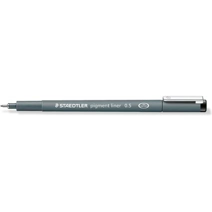 STAEDTLER Pigmentliner, schwarz, Strichstärke: 0,5 mm