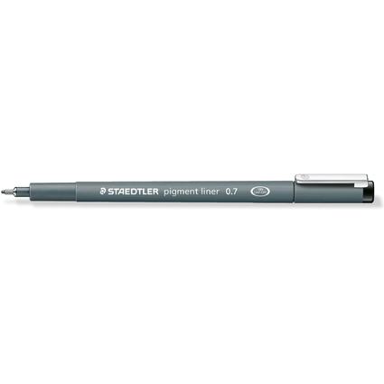 STAEDTLER Pigmentliner, schwarz, Strichstärke: 0,7 mm