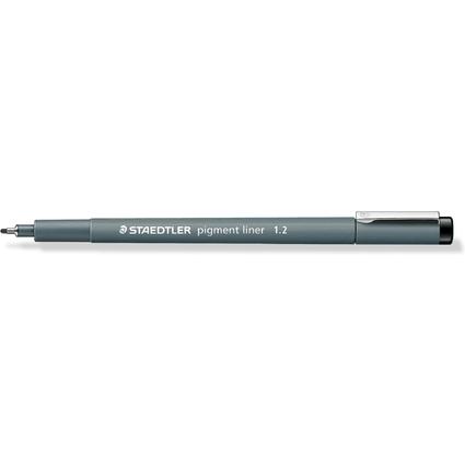 STAEDTLER Pigmentliner, schwarz, Strichstärke: 1,2 mm