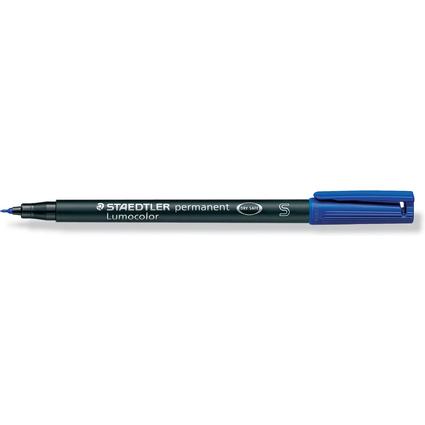 STAEDTLER Lumocolor Permanent-Marker 313S, blau