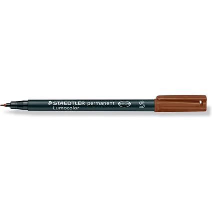 STAEDTLER Lumocolor Permanent-Marker 313S, braun