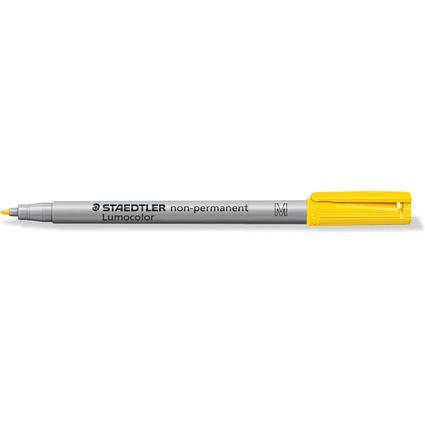 STAEDTLER Lumocolor NonPermanent-Marker 315M, gelb, (315-1)