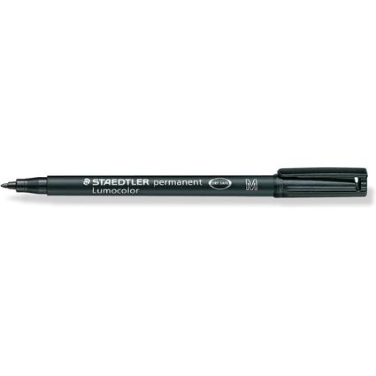 STAEDTLER Lumocolor Permanent-Marker 317M, schwarz