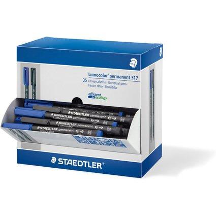 STAEDTLER Lumocolor Permanent-Marker 317M, Thekendisplay