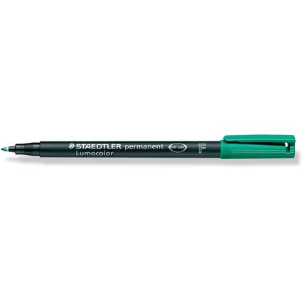 STAEDTLER Lumocolor Permanent-Marker 318F, grün