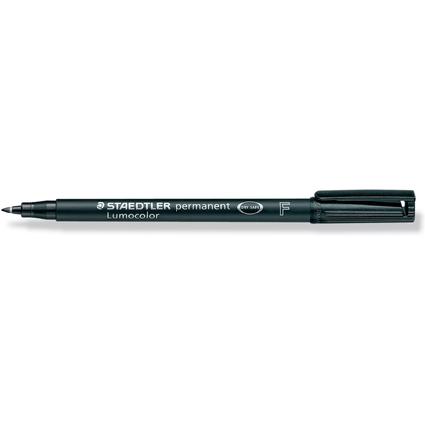 STAEDTLER Lumocolor Permanent-Marker 318F, schwarz