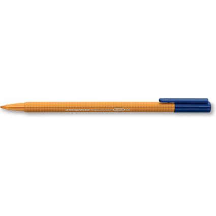 STAEDTLER Fasermaler triplus color, dreieckig, goldocker