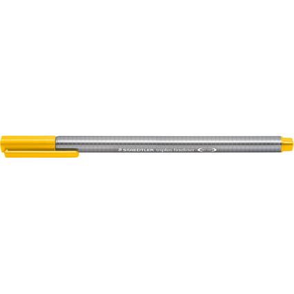 STAEDTLER Fineliner triplus, sonnengelb, Strichstärke: 0,3mm