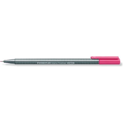 STAEDTLER Fineliner triplus, magenta, Strichstärke: 0,3 mm