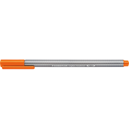 STAEDTLER Fineliner triplus, orange, Strichstärke: 0,3 mm