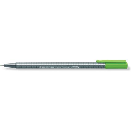 STAEDTLER Fineliner triplus, gelbgrün, Strichstärke: 0,3 mm
