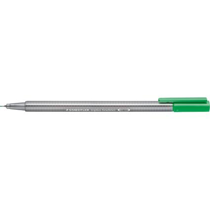 STAEDTLER Fineliner triplus, blassgrün, Strichstärke: 0,3 mm