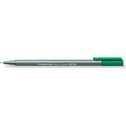 STAEDTLER Fineliner triplus, grün, Strichstärke: 0,3 mm