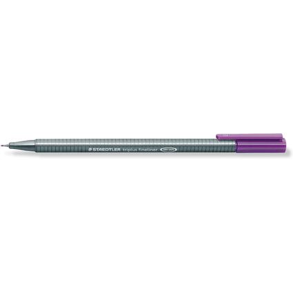 STAEDTLER Fineliner triplus, violett, Strichstärke: 0,3 mm