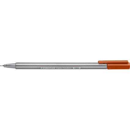 STAEDTLER Fineliner triplus, siena gebrannt, Stärke: 0,3 mm
