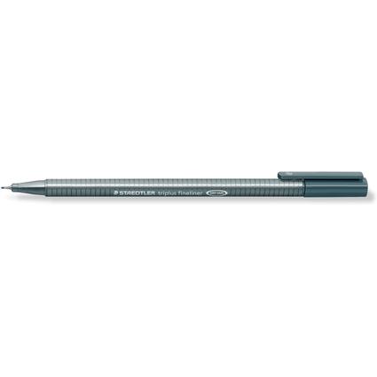 STAEDTLER Fineliner triplus, grau, Strichstärke: 0,3 mm