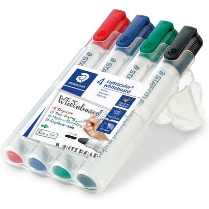 STAEDTLER Lumocolor Whiteboard-Marker 351, 4er Etui
