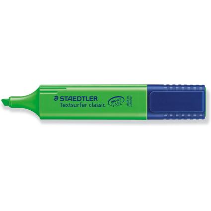 """STAEDTLER Textmarker """"Textsurfer Classic"""", grün"""
