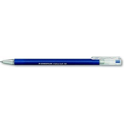 STAEDTLER Kugelschreiber triplus ball, M, blau
