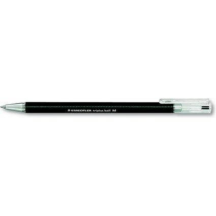 STAEDTLER Kugelschreiber triplus ball, M, schwarz